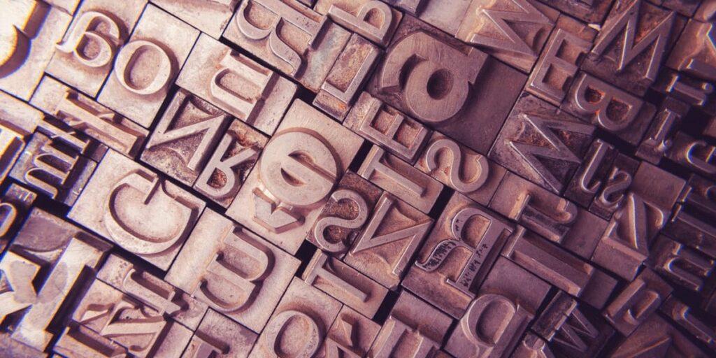 tipografie alegere font website